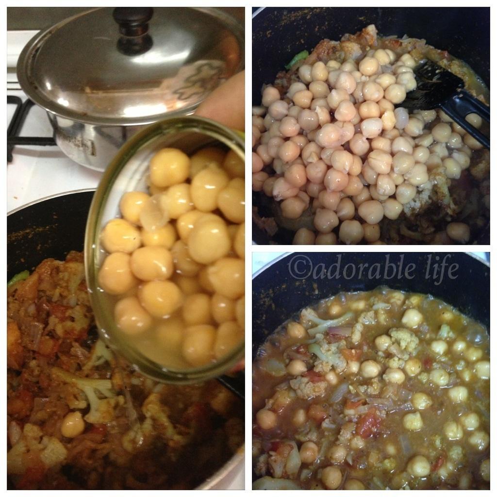 how to make cauliflower masala curry