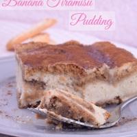 Banana Tiramisu Pudding