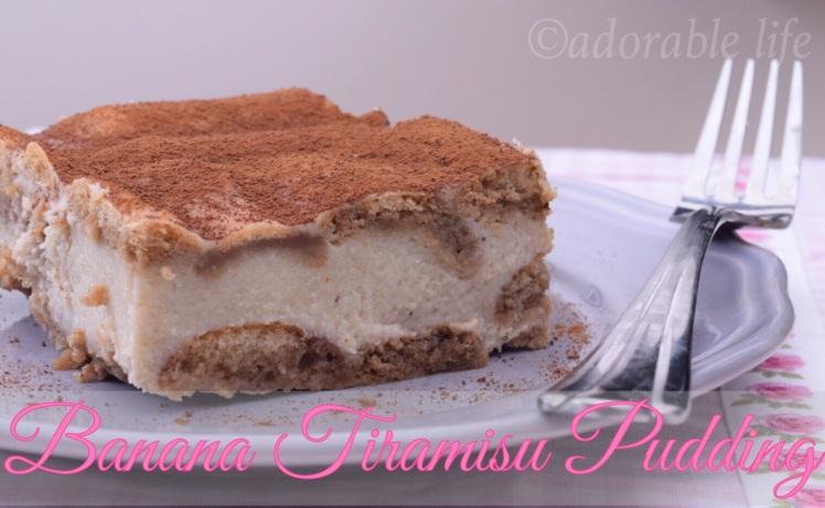 Tiramisu Pudding