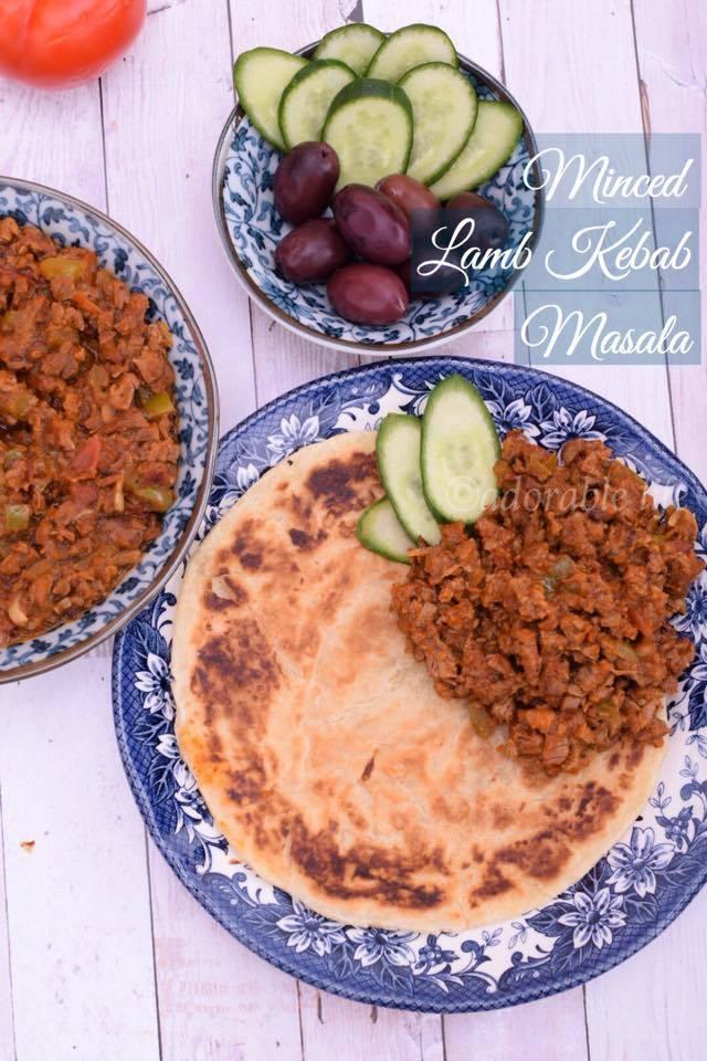 minced lamb kebab masala
