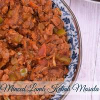 Minced Lamb Kebab Curry in Tomato Gravy(Leftover recipe)